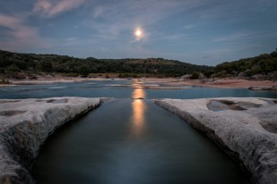 Moonrise Over Pedernales
