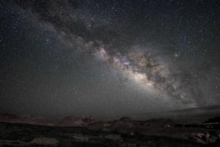Milky Way over Mule Ears
