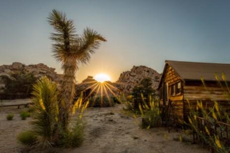Sunset on Keys Ranch