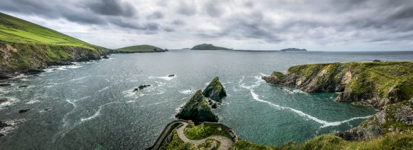 Dunquin Harbour Panorama