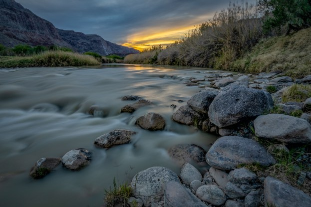 Rio Grande at Sunset