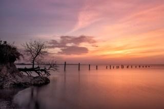 Sunset on Copano Bay