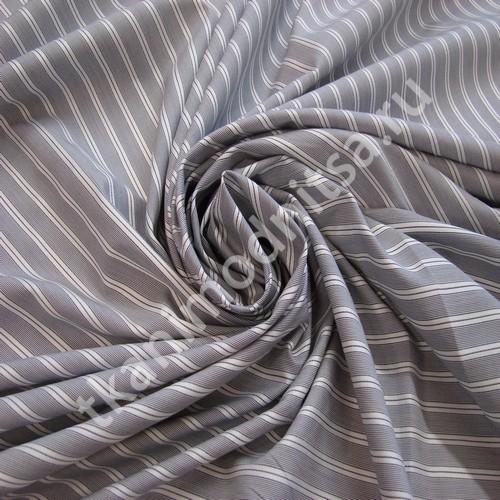 Ткань для рубашек арт.88-408, шир.155 см пр-во Италия ...