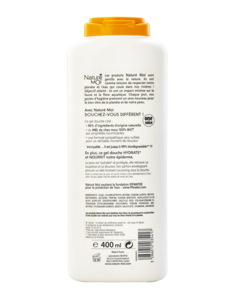 COCOONING SHOWER GEL (Honey) 400 ml.
