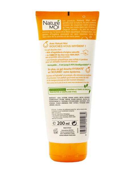 MOISTURISING SHOWER GEL (APRICOT) 200 ml.