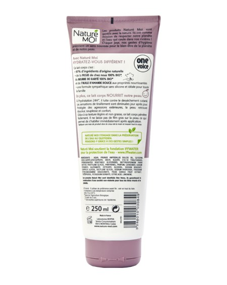 NOURISHING BODY MILK 250 ml.