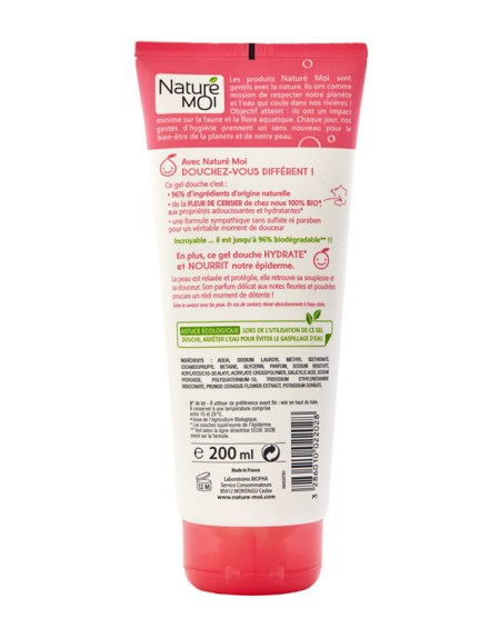 RELAXING SHOWER GEL (CHERRY BLOSSOM) 200 ml.