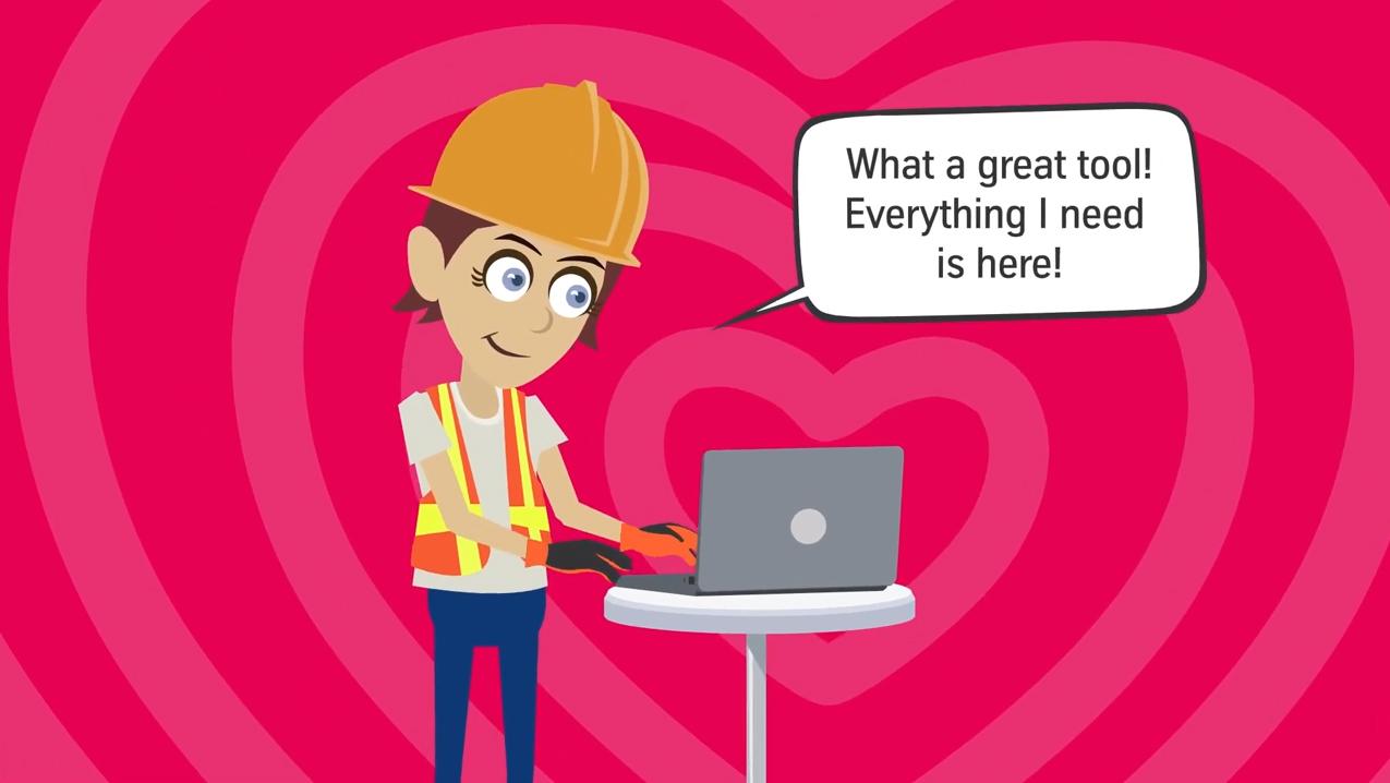 See Jane use the customer portal