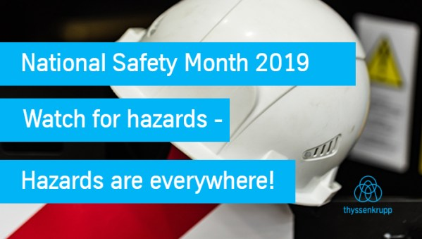 Stay Safe From Hazards