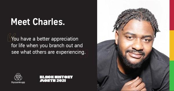 Charles K: Employee Spotlight for Black History Month