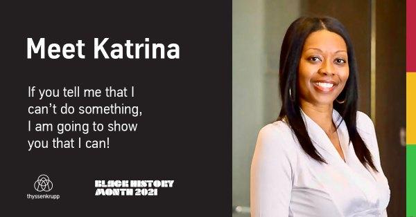 Katrina: Employee Spotlight for Black History Month