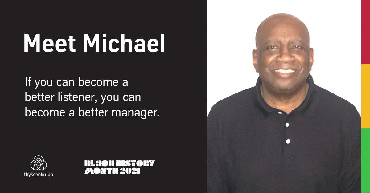 Michael M: Black History Month: Employee Spotlight