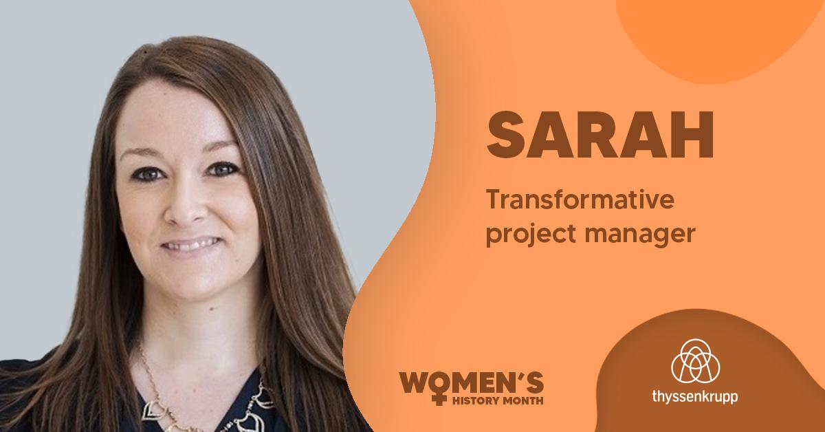 Women's History Month: Employee Spotlight: Sarah