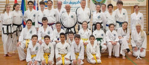 Seminar and overall training with guests from Italy