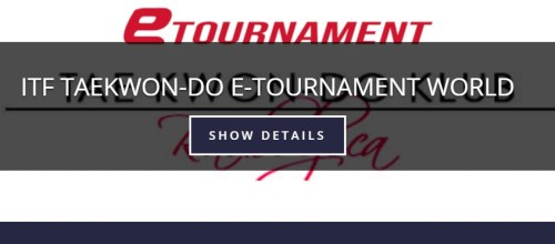 The first eTournament