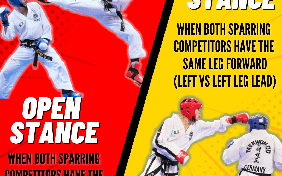 Do this when your opponent leads with the opposite leg in front !