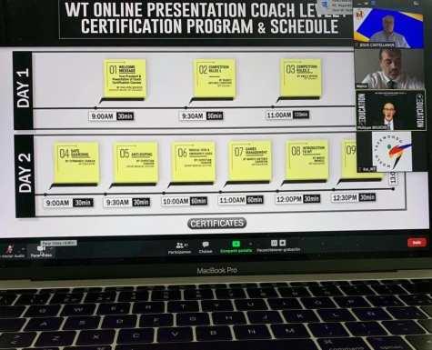programa curso online coach internacional taekwondo wtf