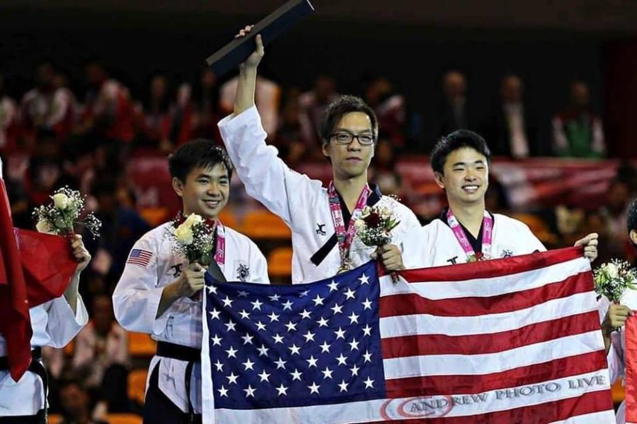 Team-M's Alvin Jong (Far Right)
