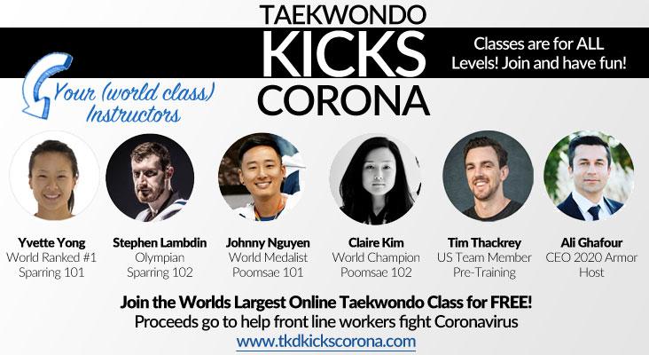 Taekwondo Kicks Corona