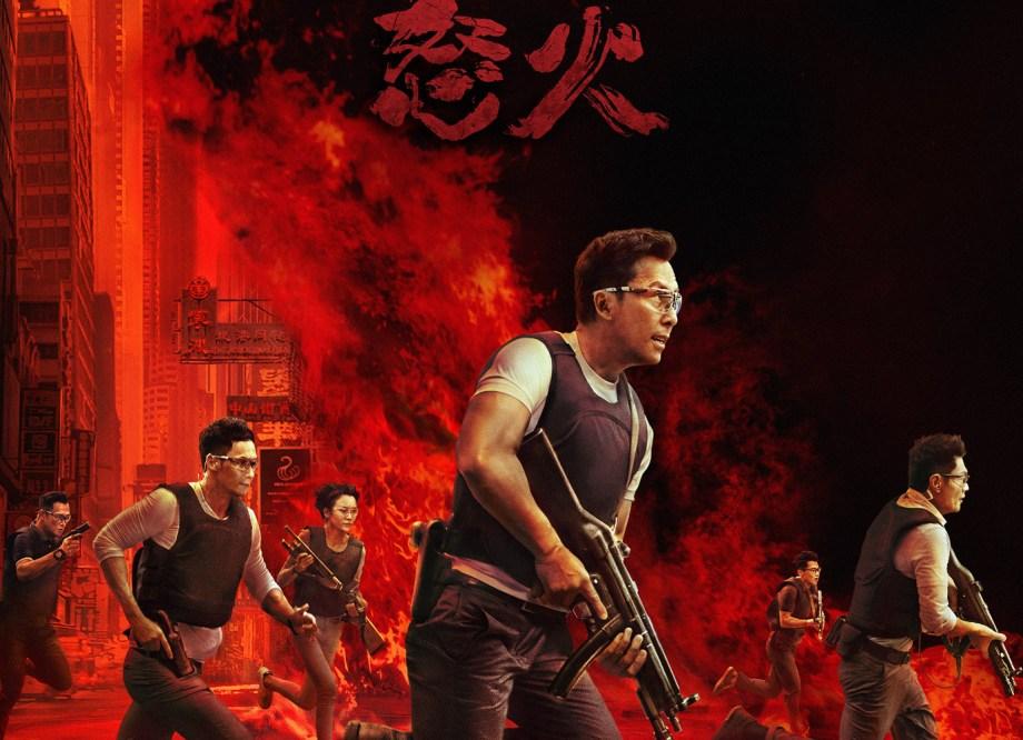 Yen Smolders in 'Raging Fire