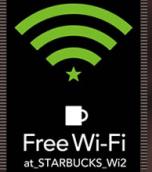 スタバ-wifiステッカー