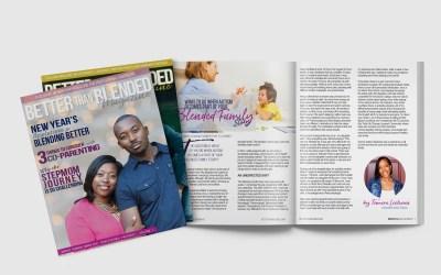 Magazine Cover, Interior & Mockup Design