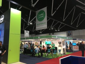 Pip Cleaves home for EduTech