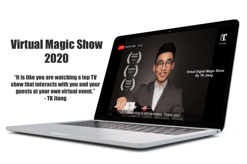 online magic show singapore