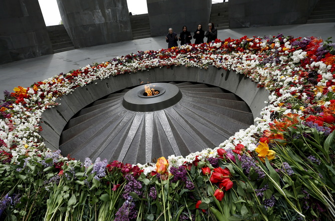The 100th anniversary of the Armenian genocide