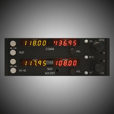 RT385 RT485 Replacement NAV/COMM - MX385
