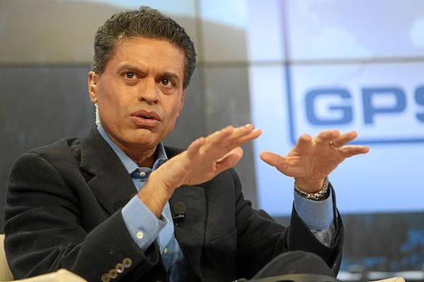 """""""Fareed Zakaria World Economic Forum 2013"""" by World Economic Forum from Cologny, Switzerland - Transformations in the Arab World: Fareed ZakariaUploaded by January. Licensed under Creative Commons Attribution-Share Alike 2.0 via Wikimedia Commons"""