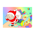 "Illustrations of ""Santa Claus, Christmas gift, Christmas present, Xmas"""