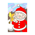 "Illustrations of ""Santa Claus, Fairy, Aurora, Fantasy christmas"""