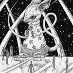 "Illustrations of ""Mouse, Space, Starry sky, Alien, Science fiction"""