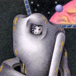 "Illustrations of ""Space travel, Traveler, Planet, Alien, Cyborg"""