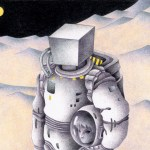 "Illustrations of ""Astronaut, Moon's world, Strange place, Moon, Mystery area"""