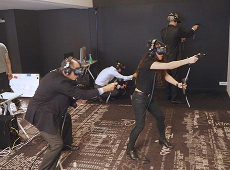 La VR  en groupe !