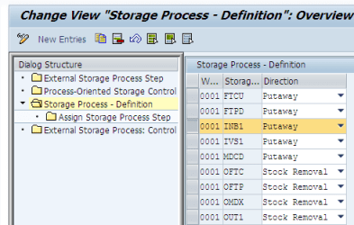 Storage-process-definition