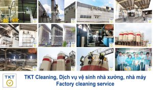 Factory cleaning service - TKT Cleaning