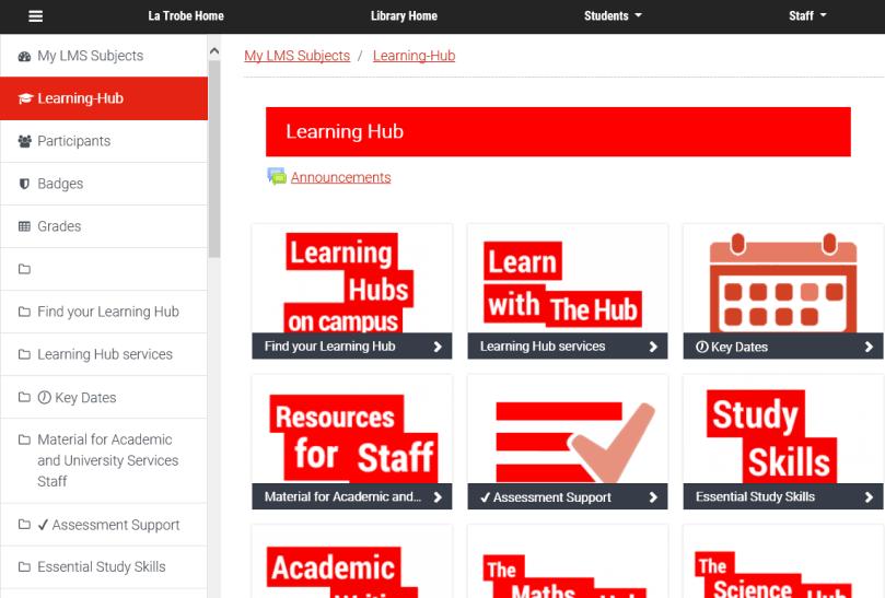 Learning Hub pic