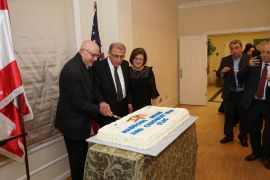 Honoring Dr Moise Khayrallah and Mr Chaoukat Nasrallah - 041