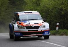 ŠKODA FABIA S2000 vo farbách Styllex Motorsport.