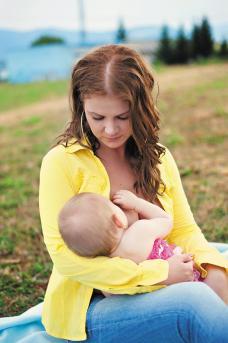 kojenie matka mlieko dieťa