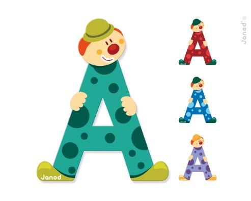 Deti sa vďaka písmenkám môžu učiť abecedu a skladať si rôzne slovíčka.