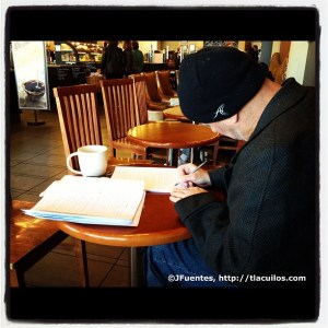 Jeff, un escritor. Foto: José Fuentes-Salinas.