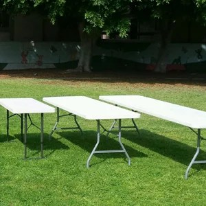 Plastic Long Tables