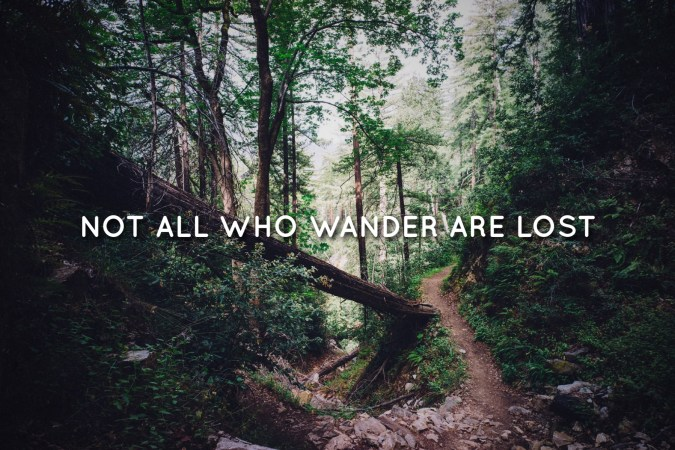 Not all who wander are lost, JRR Tolkien, breathtaking inspiration book quotes