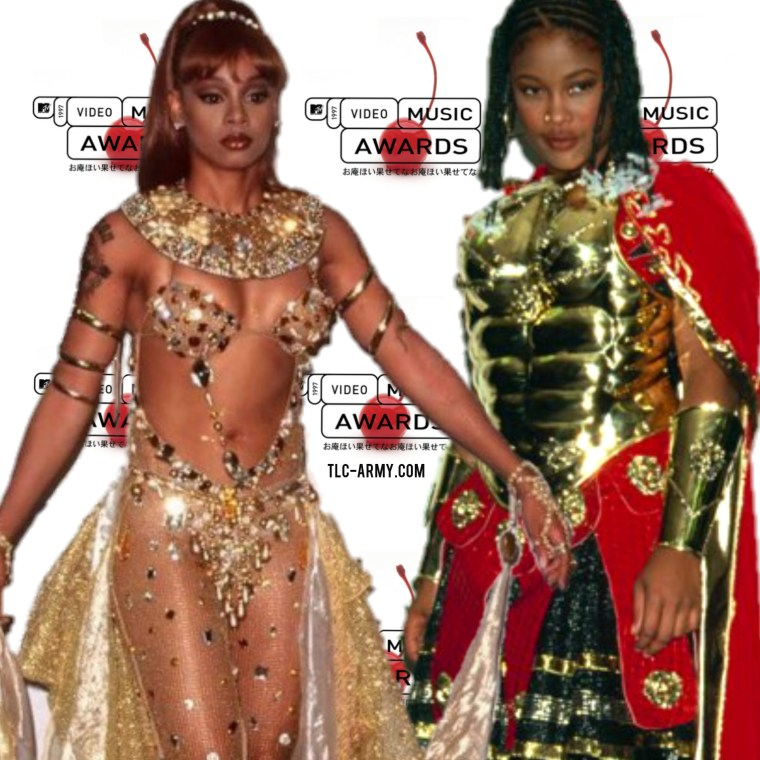Left Eye - Da Brat - VMAs 1997 | TLC-ARMY.COM