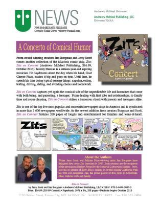Zits en Concert Press Release