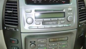 2003 toyota camry aftermarket radio